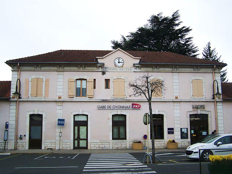 Gare d 39 oyonnax horaires en gare d 39 oyonnax for Horaire piscine oyonnax