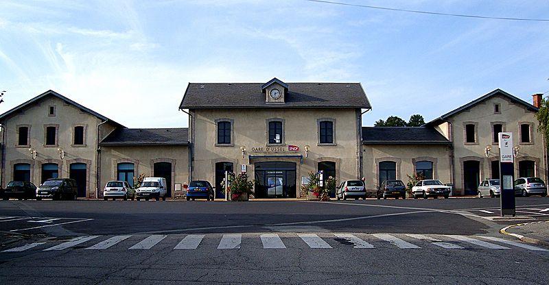 Gare d 39 ussel horaires en gare d 39 ussel for Code postal 19200