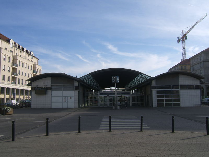 Bussy-Saint-Georges France  city photo : Gare de Bussy Saint Georges Horaires en gare de bussy saint georges