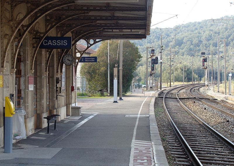gare de cassis horaires en gare de cassis. Black Bedroom Furniture Sets. Home Design Ideas