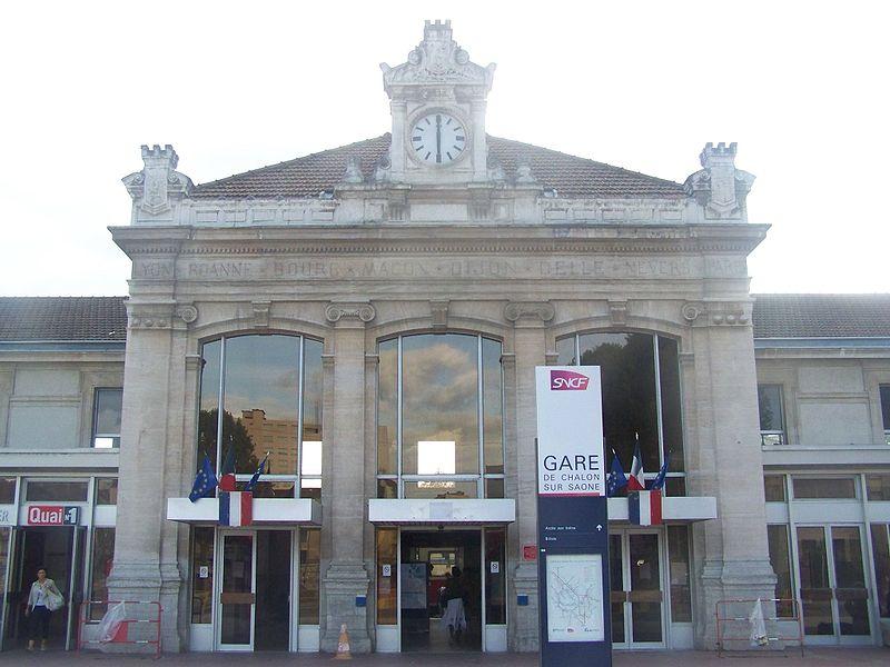 Gare De Chalon Sur Sa Ne Horaires En Gare De Chalon Sur