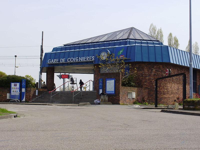 Coignieres France  city photos : Gare de Coignières Horaires en gare de coignières