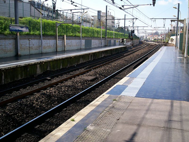 Gare de FontenaysousBois  Horaires en gare de fontenaysousbois ~ Horaire Patinoire Fontenay Sous Bois