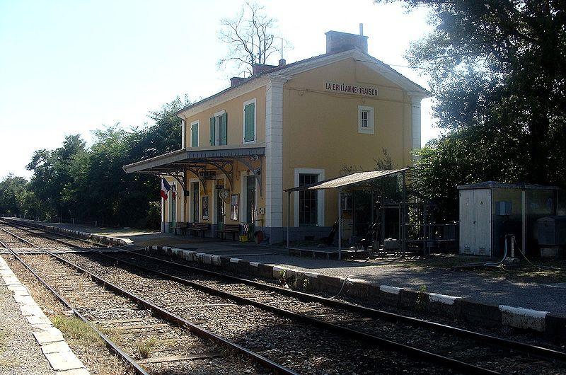 Gare de la brillanne oraison horaires en gare de la for Garage de la gare bretigny