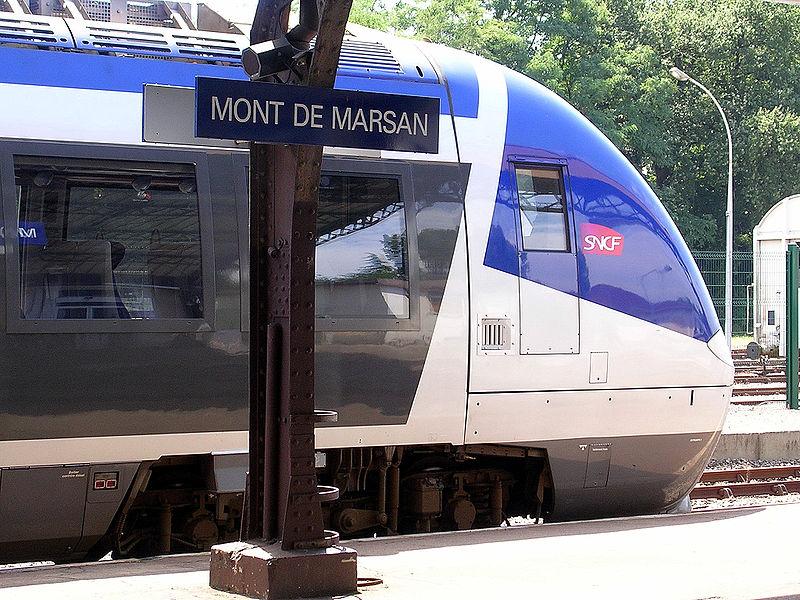 Gare de mont de marsan horaires en gare de mont de marsan for Construction piscine mont de marsan