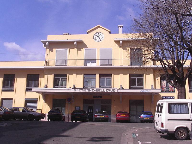 Gare de saint tienne bellevue horaires en gare de saint - Horaire piscine bellevue ...