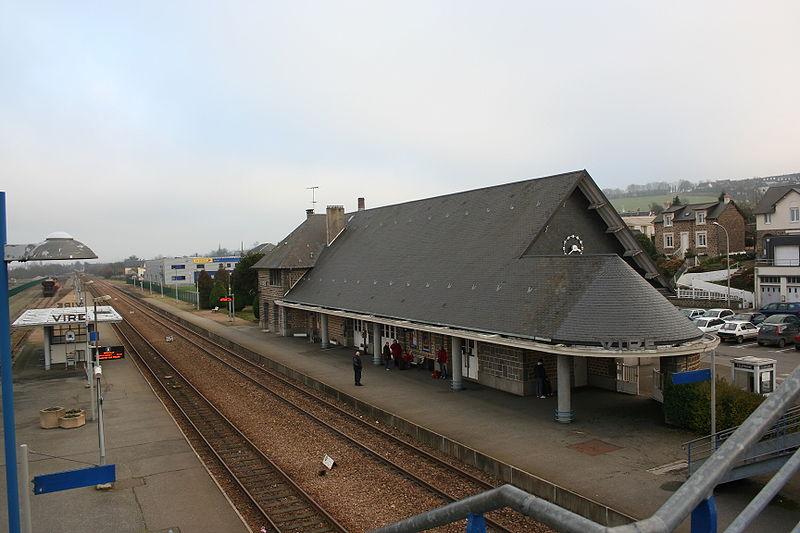 Gare de vire horaires en gare de vire for Garage paris normandie flers